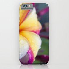 Hawaii Plumeria Flower Jewels Slim Case iPhone 6s