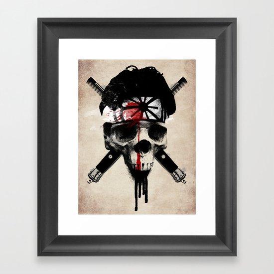 Death to LaRusso Framed Art Print