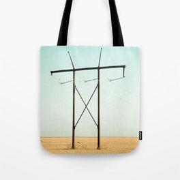 Don Quixote of La Mancha against the windmills Tote Bag