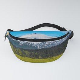 Bear_Creek Mountain Glacier II - Alaska Fanny Pack