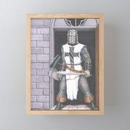 Crusader Framed Mini Art Print
