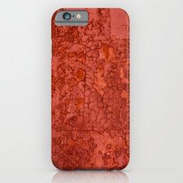 Rusty wall by Lika Ramati iPhone Case