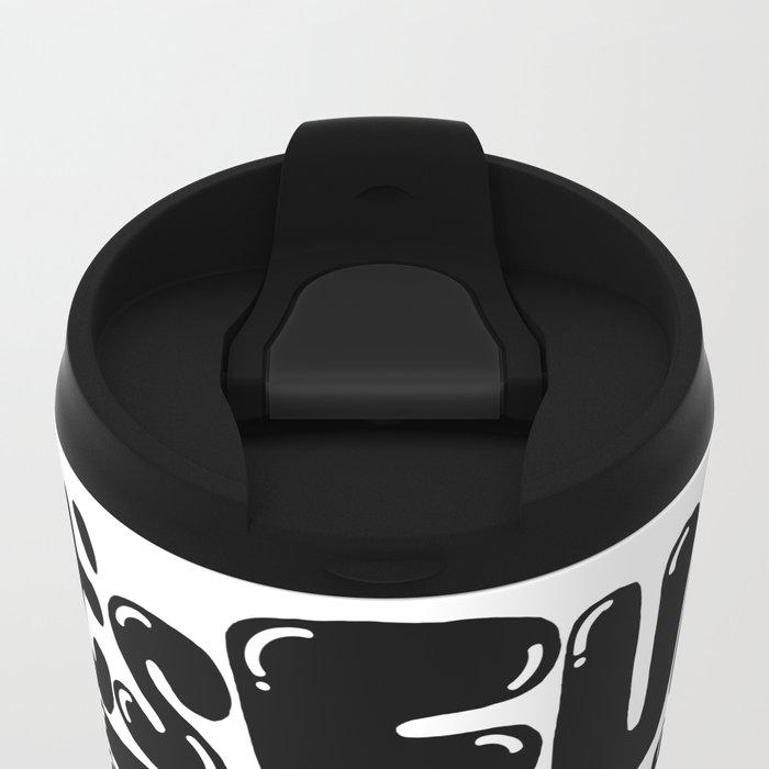 trouble Metal Travel Mug