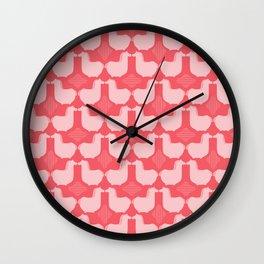 MCM Dala Red Wall Clock