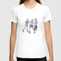 freud T-shirts featuring Freud, Jung, and Watts, walk into a bar... by Salgood Sam