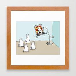Subliminal Message Framed Art Print