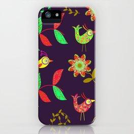 Lovely Birds iPhone Case
