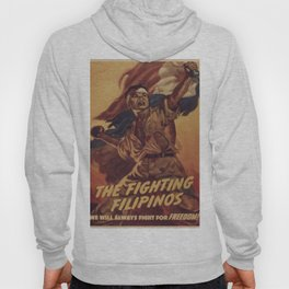 Vintage poster - The Fighting Filipinos Hoody