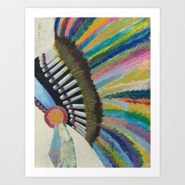 Azusa Art Print