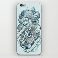 Life & Love at Sea iPhone & iPod Skin