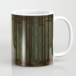 Autumn Forest - Pixel Art Coffee Mug
