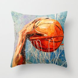 Two points Throw Pillow
