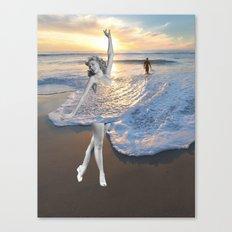 Like a wave Canvas Print