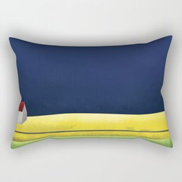 Simple Housing   A night in the life Rectangular Pillow