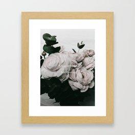 Add Flowers Framed Art Print