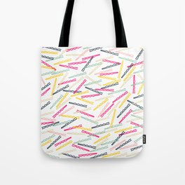 Cute Bobby Pins Tote Bag