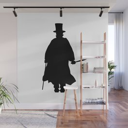 Jack the Ripper Silhouette Wall Mural