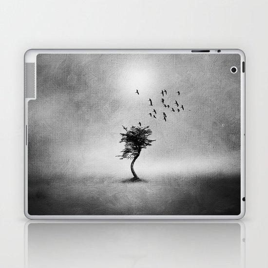 Minimal B&W II Laptop & iPad Skin