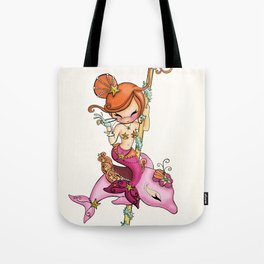 Dolly Dolphin Tote Bag