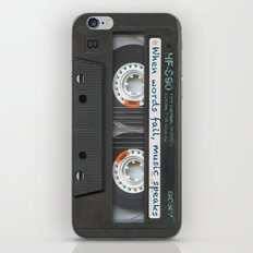 Cassette iPhone - Words iPhone & iPod Skin
