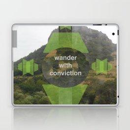 Wonder With Conviction Laptop & iPad Skin