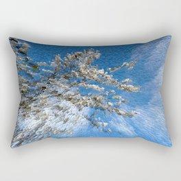 Apple blossom time Rectangular Pillow