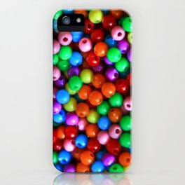 Color Beads iPhone Case