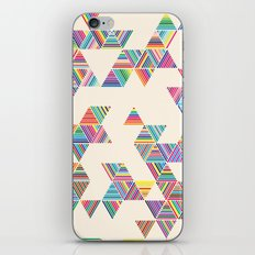 Rainbow Rain iPhone & iPod Skin