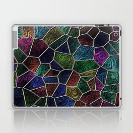 Mosaic LORA,multicolor Laptop & iPad Skin