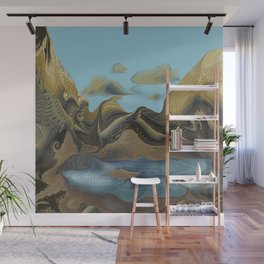 Imaginary Landscape Wall Mural