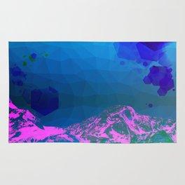 UltraViolet Mountains Rug