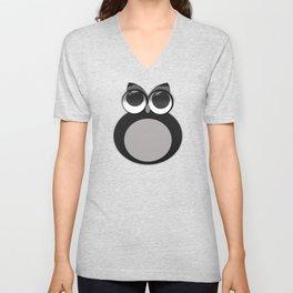 Gothic owl Unisex V-Neck