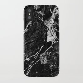 Marble Black iPhone Case