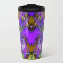 Blue colour reaction Travel Mug
