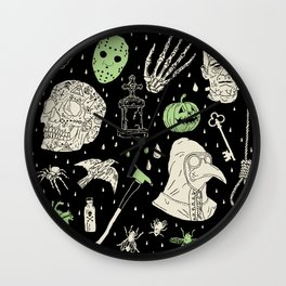 Whole Lot More Horror: BLK Ed. Wall Clock