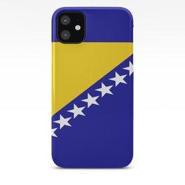 Flag of Bosnia – Bosnian,Bosniak,herzegovinian,bosna,Sarajevo,Balkan,yugoslavia. iPhone Case