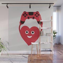 Gaming Heart Wall Mural