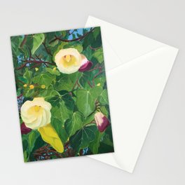 Flowers in Koh Samui Thailand Stationery Cards