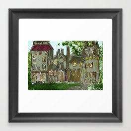 Fonthill Castle  Framed Art Print