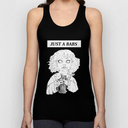JUST  A BABS Unisex Tank Top