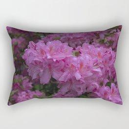 Pink Azalea flowers Rectangular Pillow