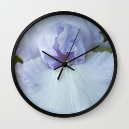 Bearded Iris Lady of Leoness Wall Clock