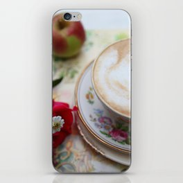 Latte Teacup & Country Diary iPhone Skin
