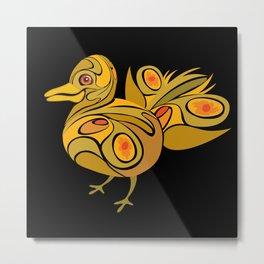 Twisted Fowl Metal Print
