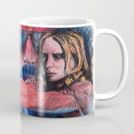 'Rush' film poster - Drawing in colour pencil Coffee Mug