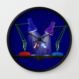 Let Your Love Shine Down Wall Clock