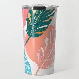 Painted Leaves Travel Mug