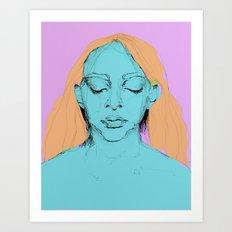 Sad Annie Art Print