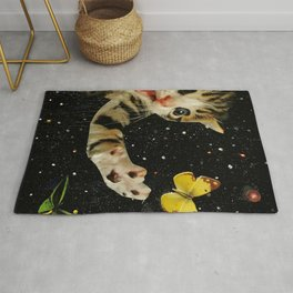 All Across the Universe Chasing Butterflies and Dreams Rug