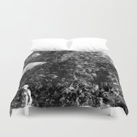 peanuts Duvet Covers featuring boiled peanuts by meredith w ochoa